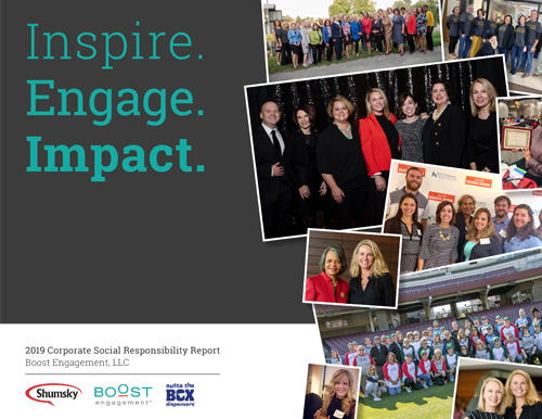 Boost Engagement Corporate Social Responsibility Report-2019
